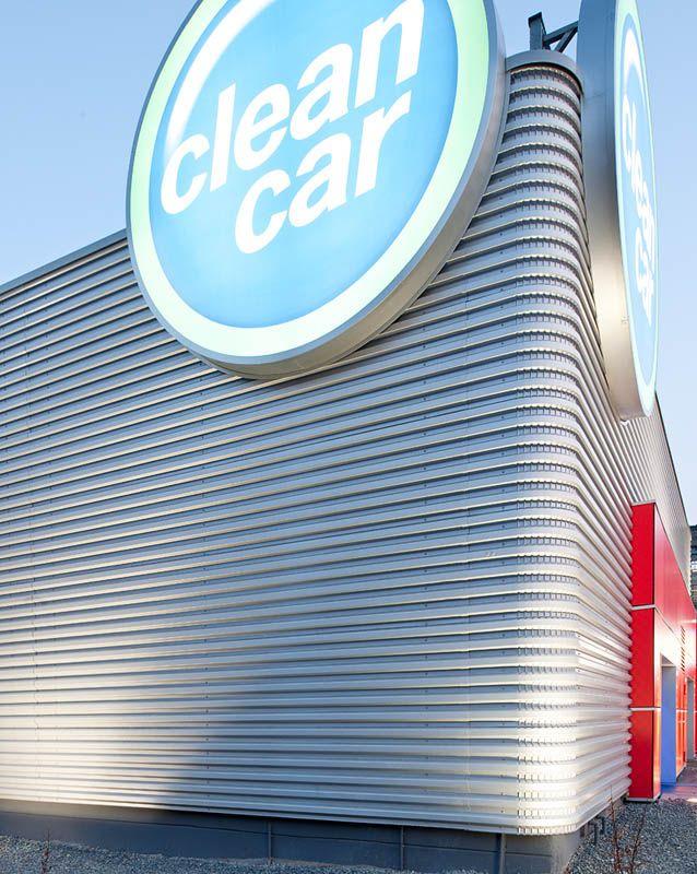 Exterior of Clean Car.