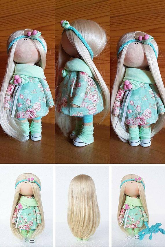 Baby doll Fabric Russian doll doll Handmade от AnnKirillartPlace