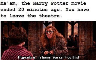 Hogwarts is my home! You can't do this!