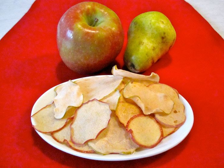 Snack Food Recipe for Kids: How to Make Apple and Pear Chips for Childre...