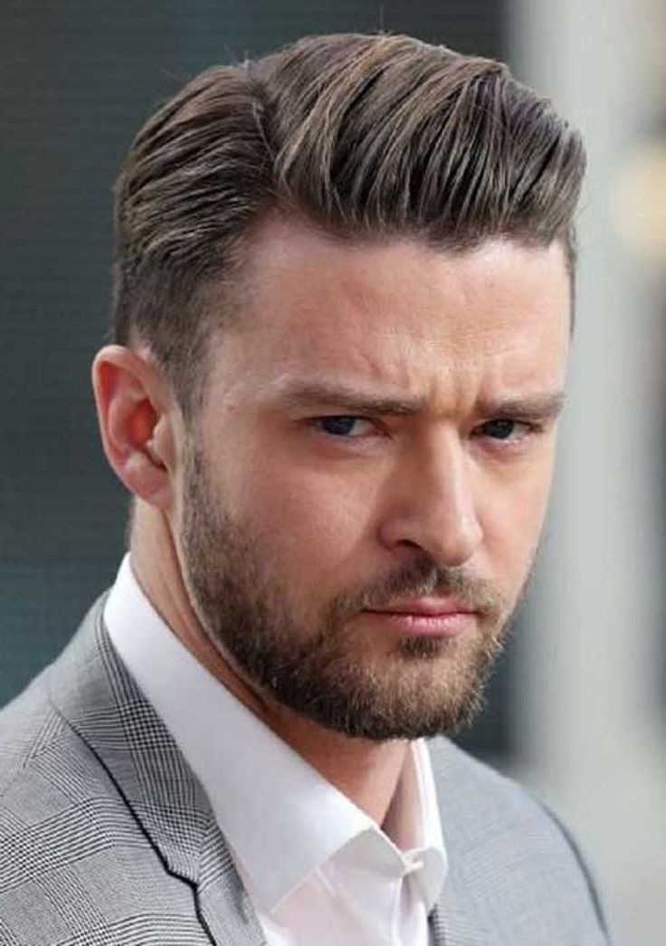 Simple And Trendy Mens Haircuts With Some Cool Pictures Of It : Trendy Hairstyles For Men 2015 Exclusive Look And Business Class Style This Style Is Only Comb The Hair Tidy And Using Single Parted