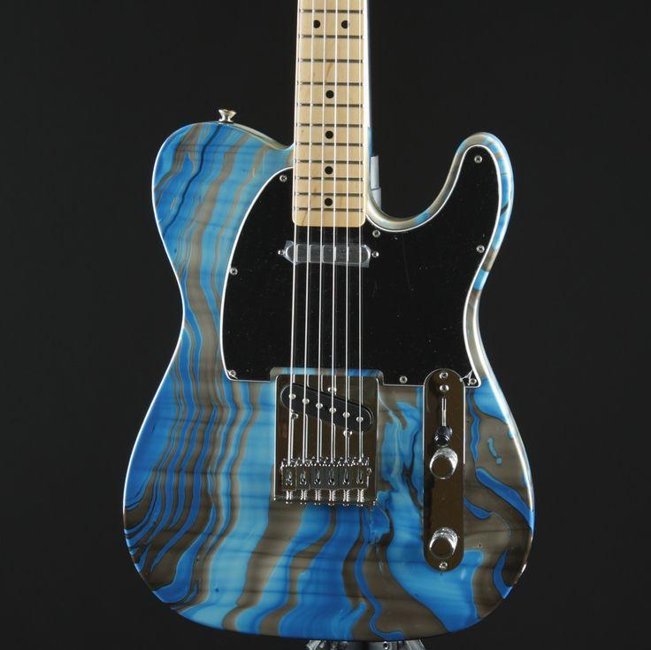 Fender Standard Telecaster Swirl Tele Electric Guitar Maple Neck Brand New