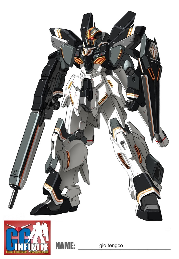 #Gundam Stein #LineArt