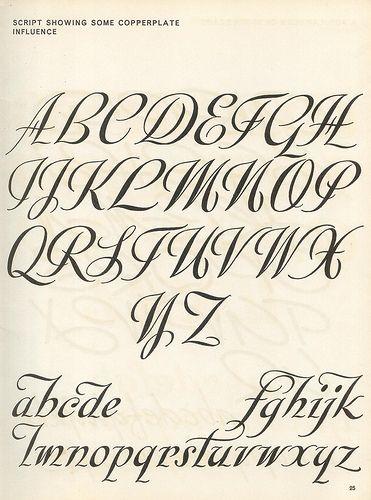 Script lettering (1957) p19