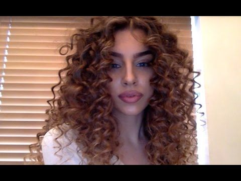 Crazy Curly Hair Tutorial - YouTube