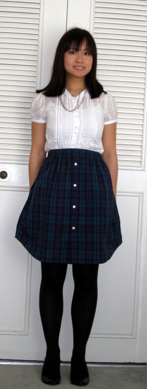 The DIY Shirt Skirt « Waking Up to a New Tomorrow