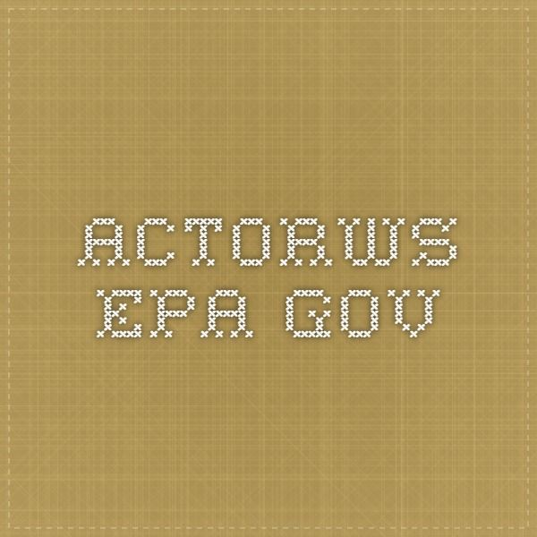 actorws.epa.gov