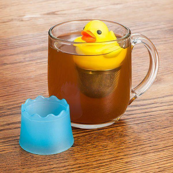 Duck Tea Infuser  http://www.thinkgeek.com/geek-kids/7-13-years/ed29/?srp=1