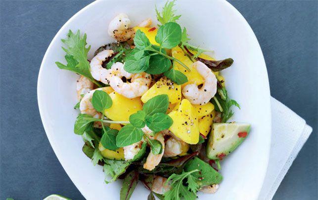 Avokadosalat med rejer