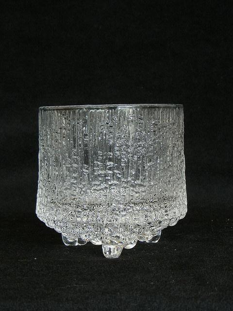Tapio Wirkkala, Ultima Thule glassware for Iittala.