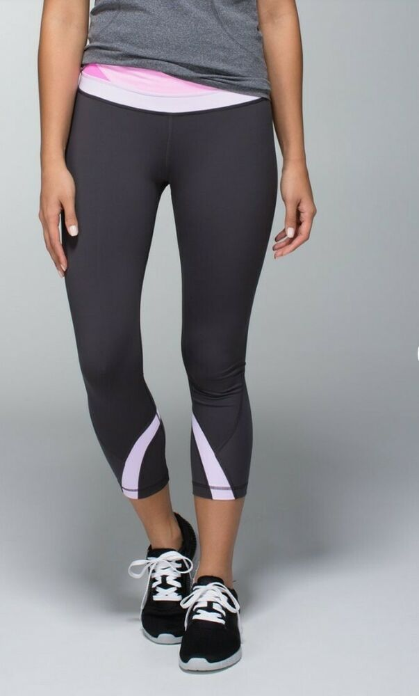 163d546188 Lululemon Run INSPIRE Crop Pant Tight Legging 4 Yoga Spin Cycle Dance Track  #Lululemon #