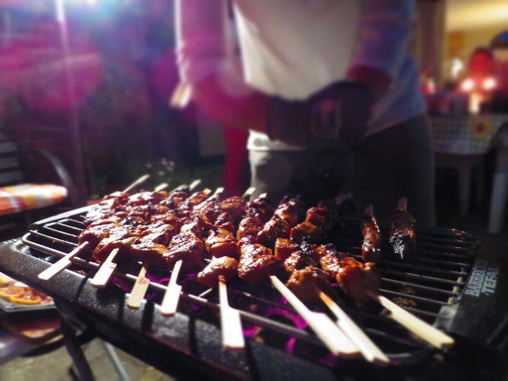 Kipsaté kip marineren | BBQ | koken zonder pakjes kan prima/ Marinaded Healthy Chicken Sate (recipe is in Dutch)