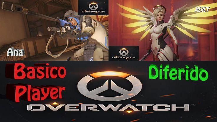 Overwatch Gameplay Español | Let's play Overwatch | Competitivo T3 C41 |...