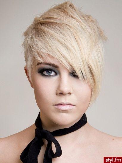 fryzura z grzywką-trend 2014