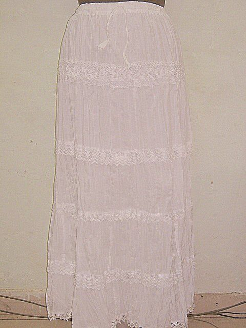 ART Simple White Skirts    For our other Products  Please visit  www.premiumtowelexportindia.com