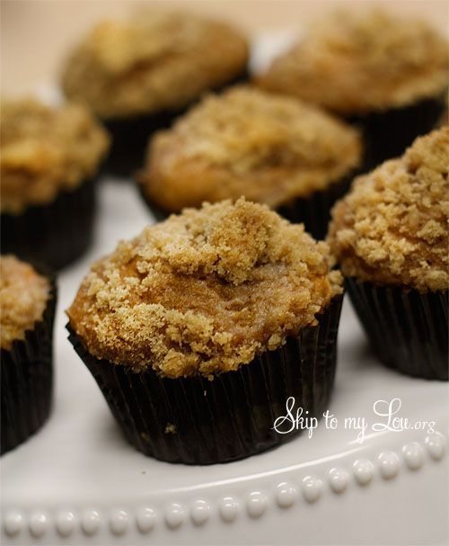 Muffins, Easy pumpkin muffins and Pumpkins on Pinterest