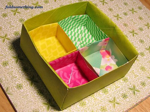bento box by josey4628 via flickr craft love pinterest photo boxes origami paper and. Black Bedroom Furniture Sets. Home Design Ideas