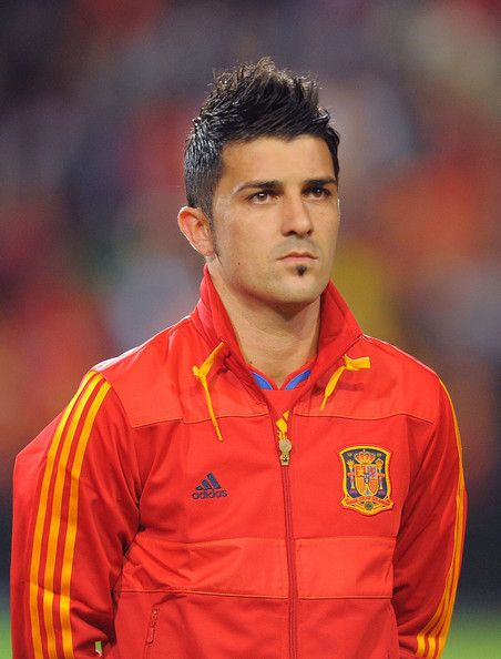 David Villa, soccer player for Barcelona