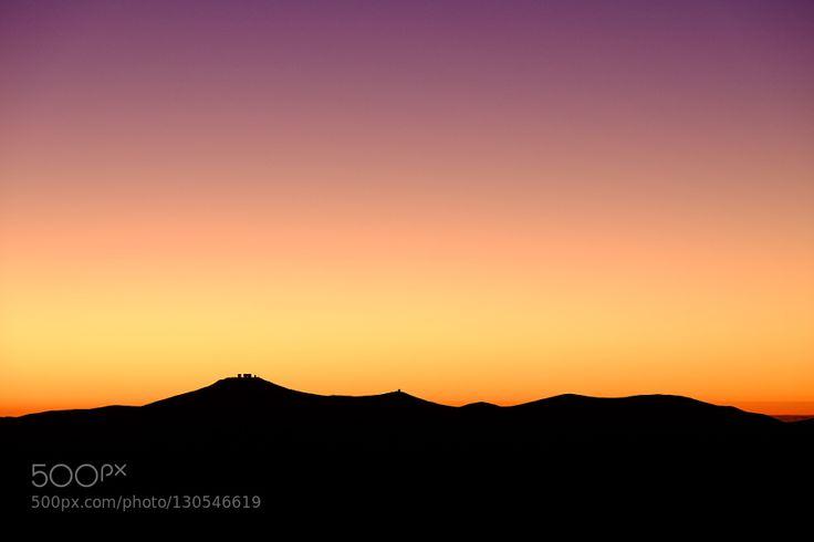 Cerro Paranal Sunset #PatrickBorgenMD