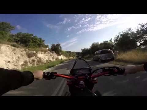 KTM Supermoto Powerslides