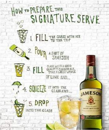 114 best jameson irish whiskey images on pinterest for Mixed drink with jameson
