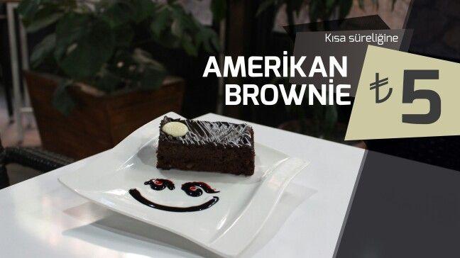 Amerikan Brownie | OldCity Cafe & Bistro