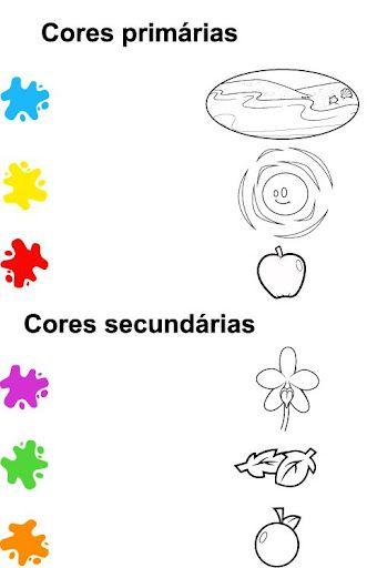 O que são cores primárias?  O que sao cores secundárias?  O que são cores neutras?  Atividades com as cores primárias, secundár...