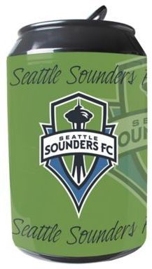 MLS Seattle Sounders FC 11-Liter Portable Party Can Fridge