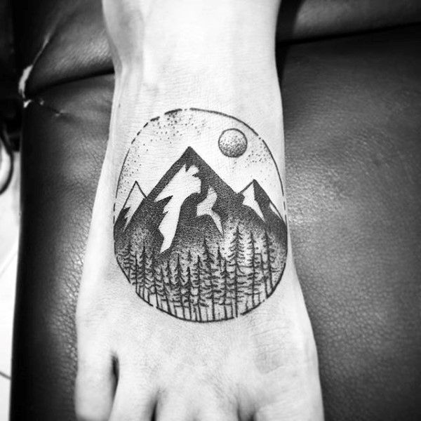 1000 images about ink on pinterest forest tattoos for Mens foot tattoos