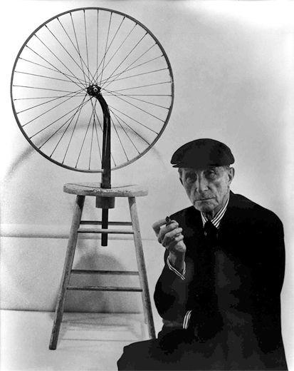 Марсель Дюшан - Велосипедное колесо {1913}