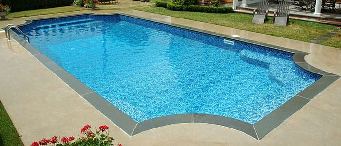 Our Hampton In-ground Pool Kits are designed for those looking for a rectangle swimming pool design but with a more sleek and elegant look.