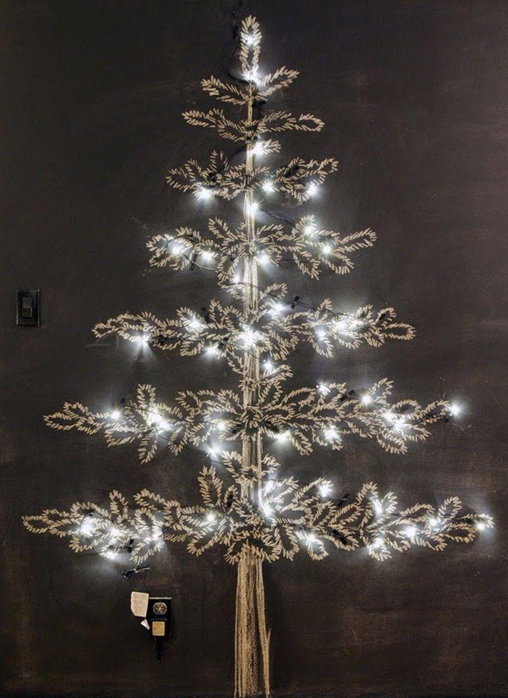 Christmas Tree Black Outline Christmas Tree Art Christmas Drawing Silhouette Christmas