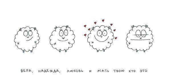 Смешная овца-мизантроп (20 картинок)