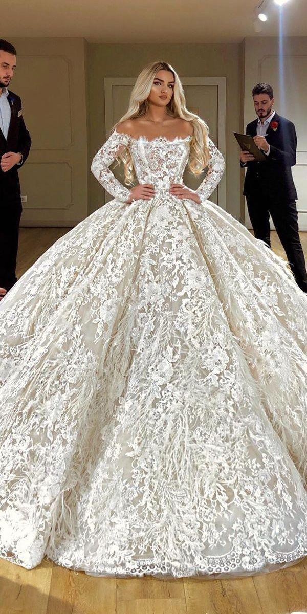 Beste Spitze Brautkleider Mit Ärmeln ★ Spitze Brautkleider mit …