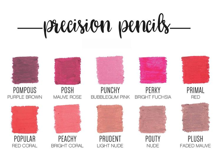 Younique precision lip liners