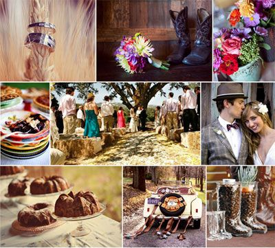 Western Theme via The Wedding Outlet