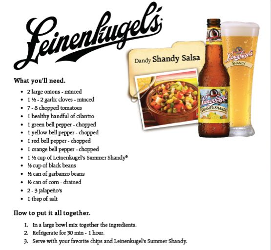 Leinenkugel's Summer Shandy Salsa