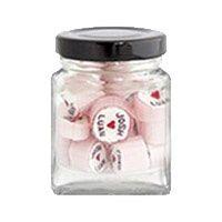 Small jar black lid