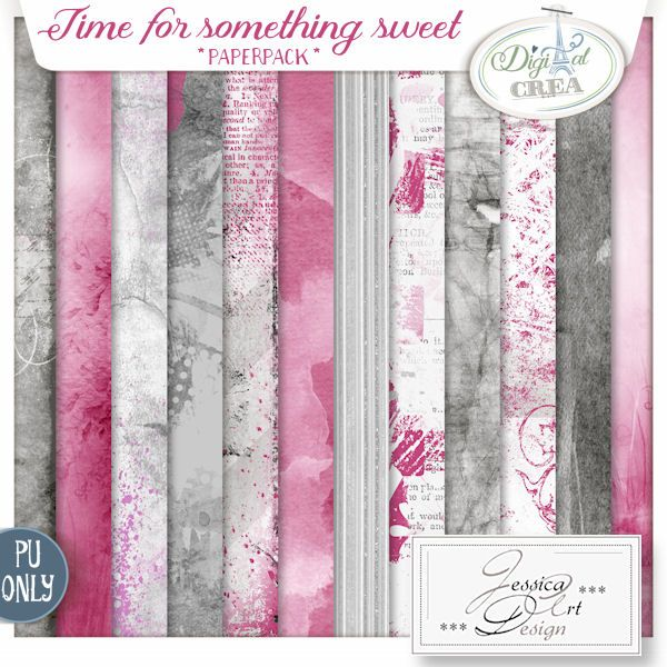 Time for something sweet * paperpack * by Jessica art-design