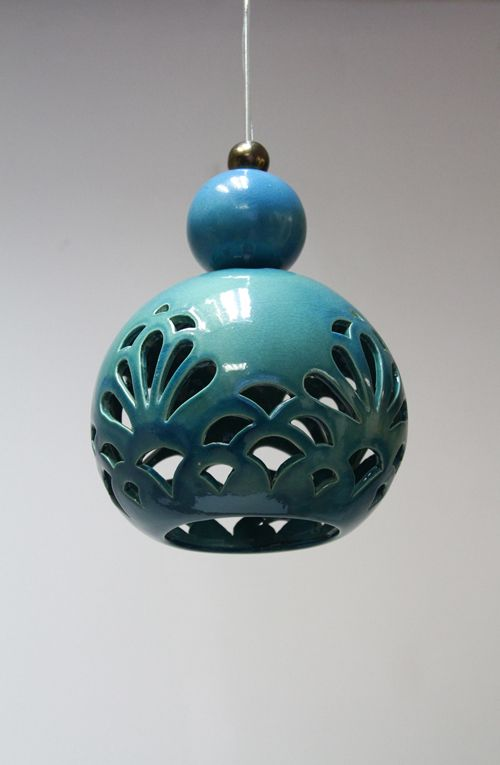 "ceramic lamp "" ORIENTAL DREAM "" design by joanna bylicka"