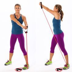 Each of these exercises will help you get acquainted with this toning tool.