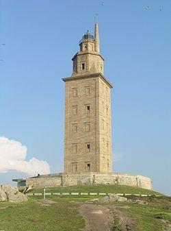 Torre de Hercules, Spain