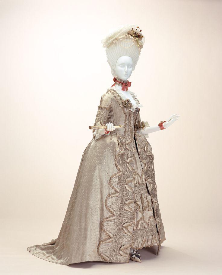 Robe A La Francaise: Women's Fashion Images On Pinterest
