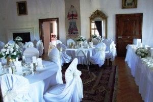 2 saloons are just the right venue for a #small #wedding #at #Bojnice #castle