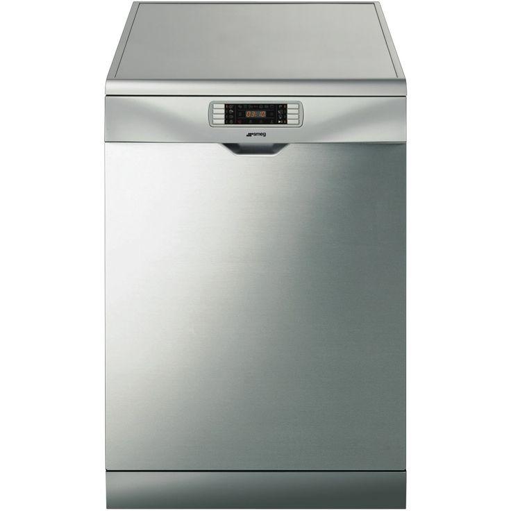 Smeg DWA315X Stainless Steel Freestanding Dishwasher at The Good Guys