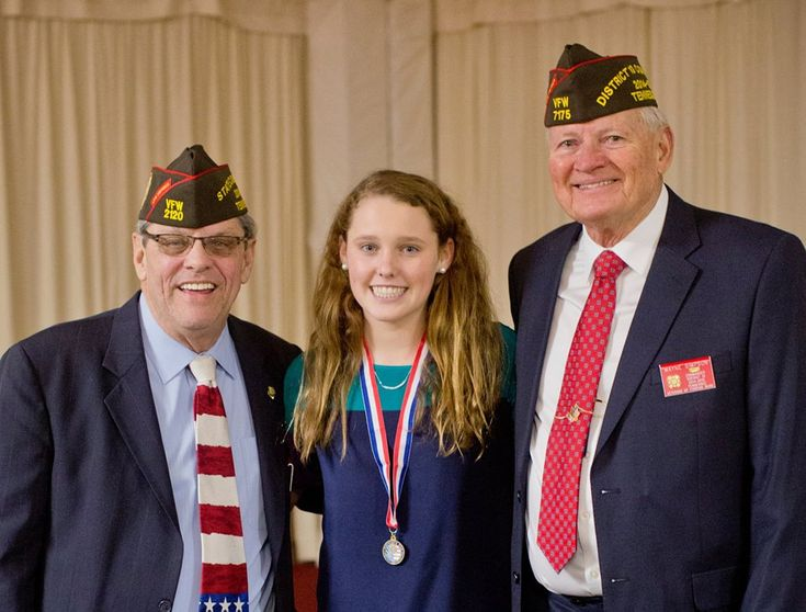 best academics images awards claire and senior  hannah hussey 19 placed first in district 10 of the veterans of foreign wars · american veteransthe veteranessay