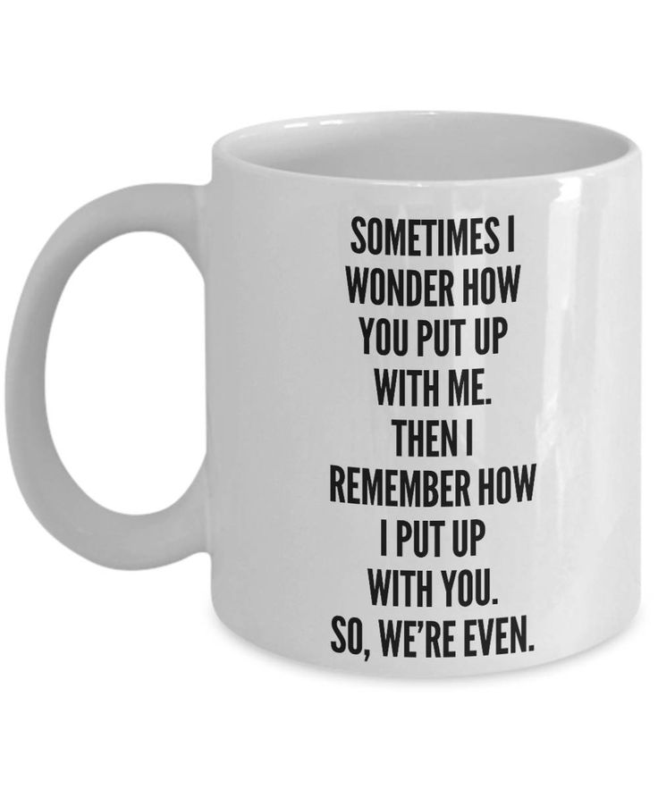 BRAND NEW! Excited to share the latest addition to my #etsy shop: Gag Gift Mug For Husband/Wife Boyfriend/Girlfriend, Funny Inappropriate Sarcastic Comment Coffee or Tea Mug http://etsy.me/2CMR7CK #housewares #funnycoffeemug #inappropriatemugs #inappropriategifts #gagg