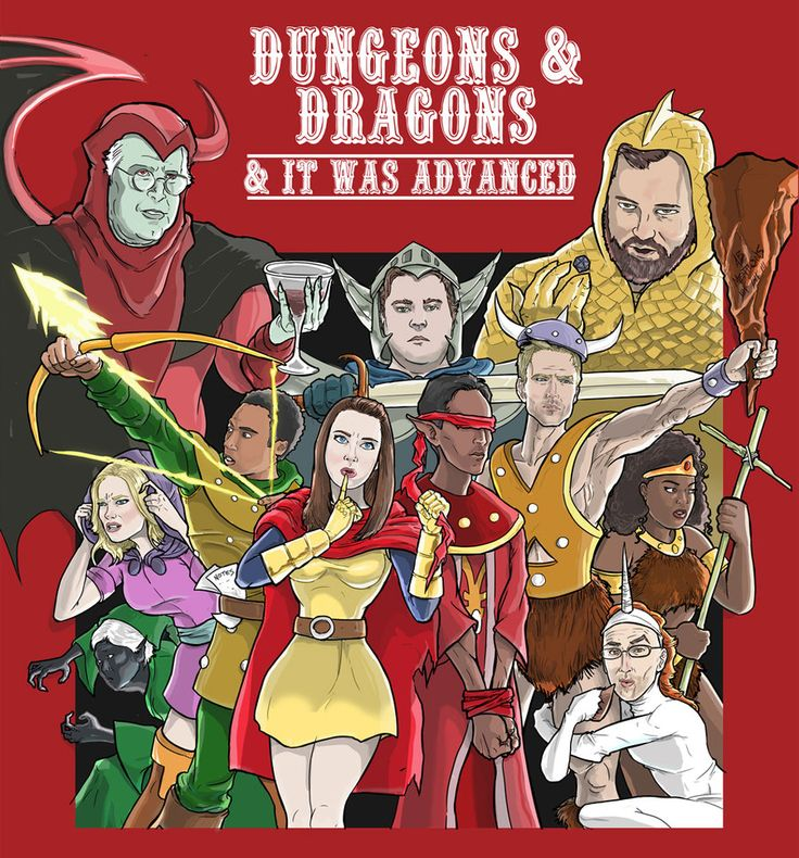 """Dungeons and Dragons...and It Was Advanced"" 