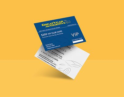 "Check out new work on my @Behance portfolio: ""Greatyear Auto Business Card"" http://be.net/gallery/54983911/Greatyear-Auto-Business-Card"