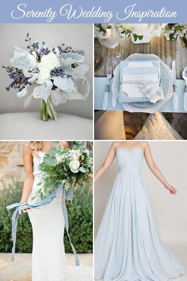 Pantone 2016: Rose Quartz + Serenity Wedding Inspiration | Wedding Blog, Wedding Planning Blog | Perfect Wedding Guide